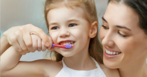 children teeth cleaning